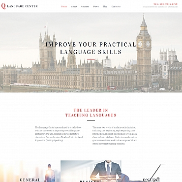 Website Template № 59056