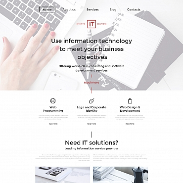 Website Template № 59057