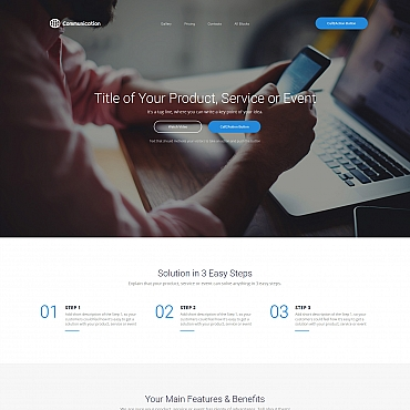 Website Template № 59192