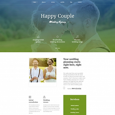 Website Template № 59221