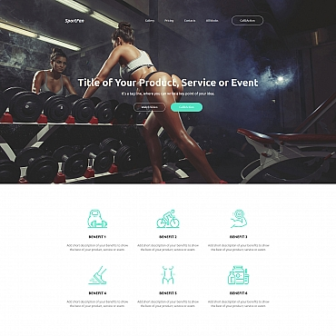 Website Template № 59243
