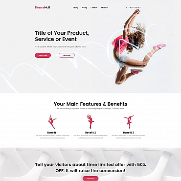 Website Template № 59250