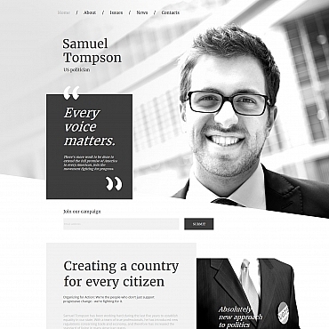 Website Template № 59301