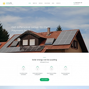Website Template № 59420