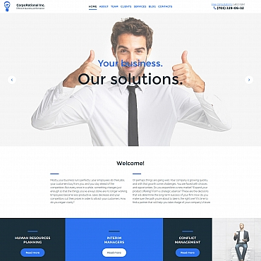 Website Template № 59430