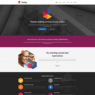 Website Template № 59432