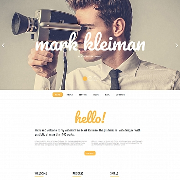 Website Template № 59445