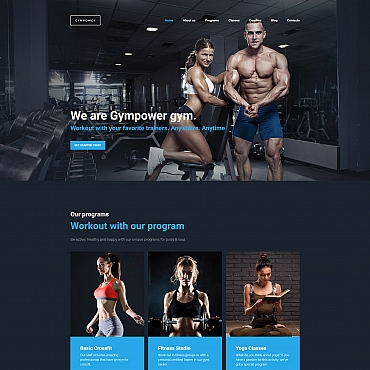 Website Template № 59455