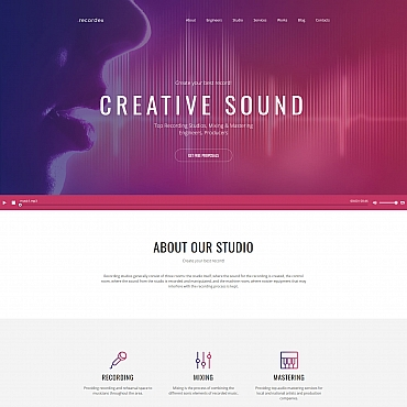 Website Template № 59460