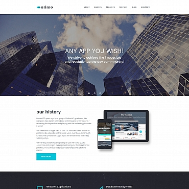 Template Software Moto CMS 3 #59478