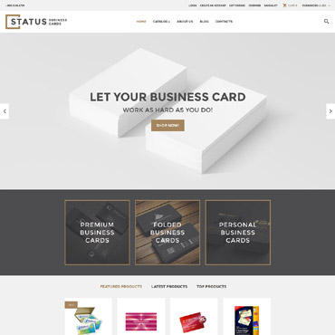 Website Template № 60001