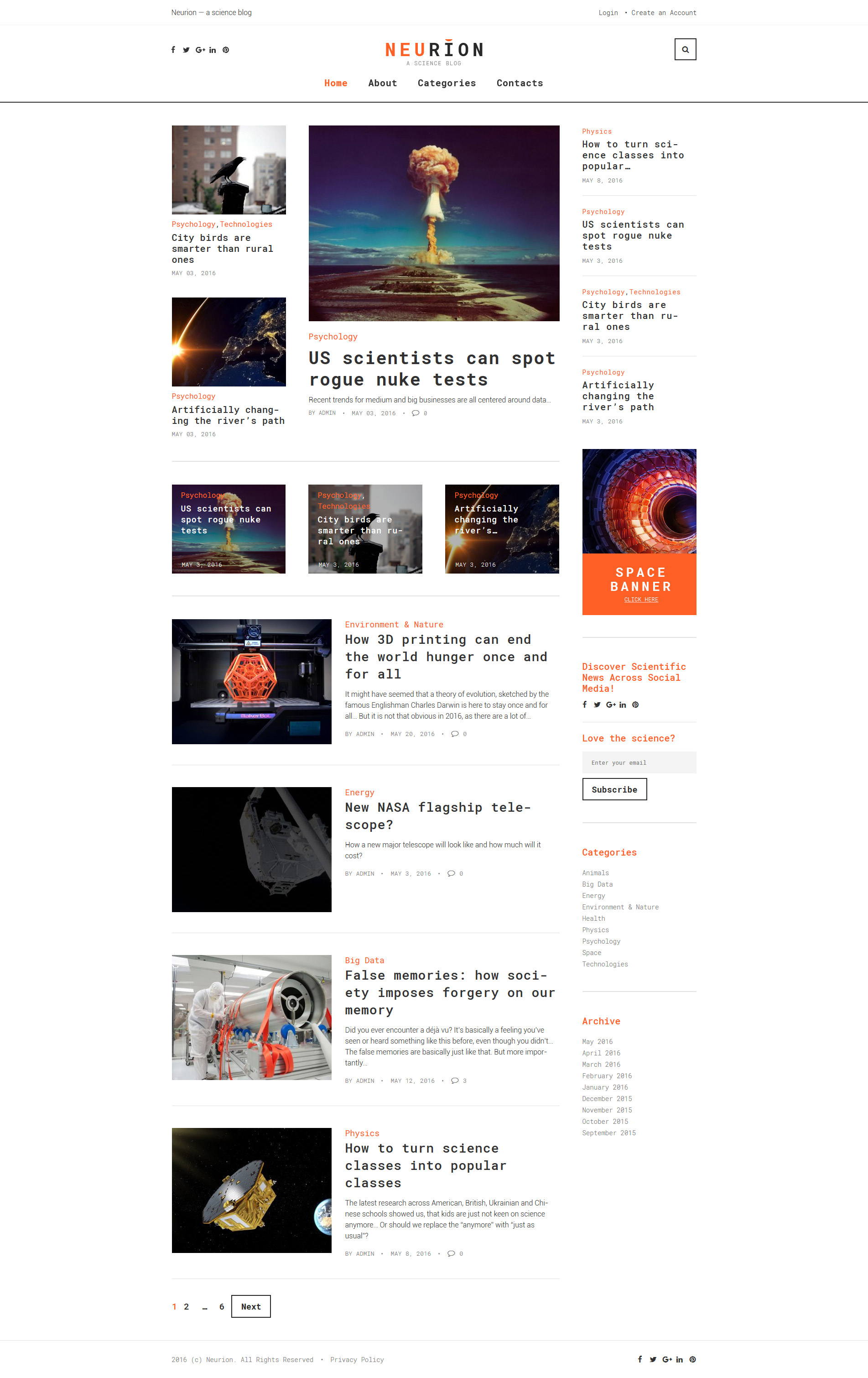 Szablony stron HTML