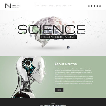 Website Template № 60052