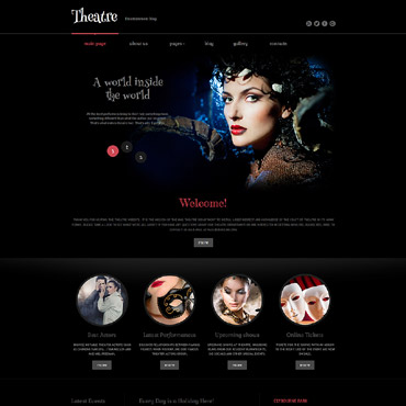 Template Divertisment Joomla #60082