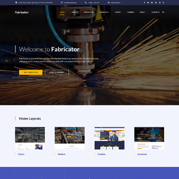 Website Template № 60101
