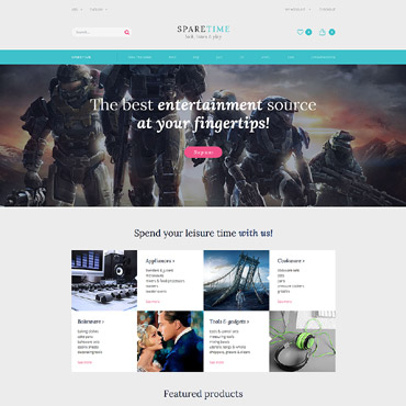 Website Template № 60102
