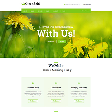 Website Template № 61117