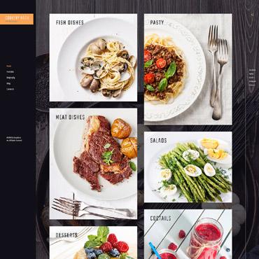 Template Mâncare și băutură WordPress #61165