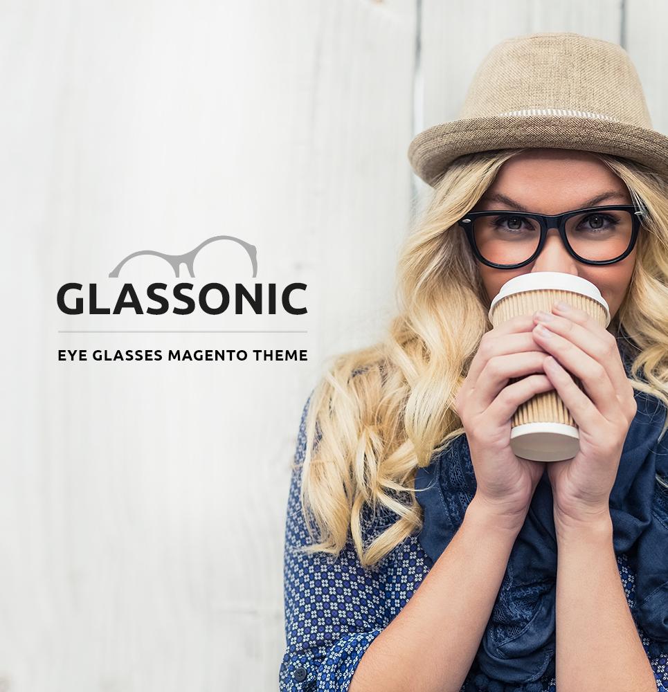 Glassonic Magento Theme