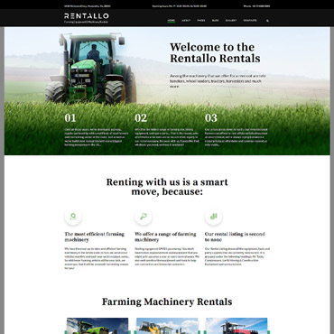 Website Template № 61204