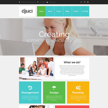 Template Web Design Joomla #61208
