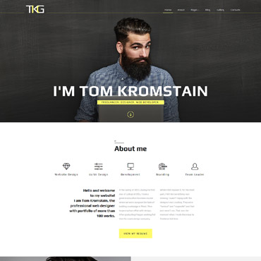 Website Template № 61213