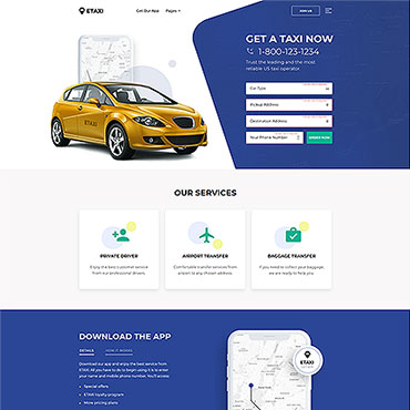 Template Transport HTML, JS şi CSS #61233