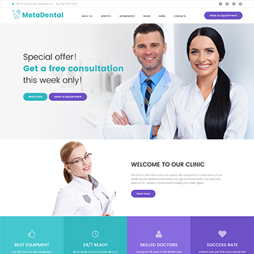 Website Template № 61239