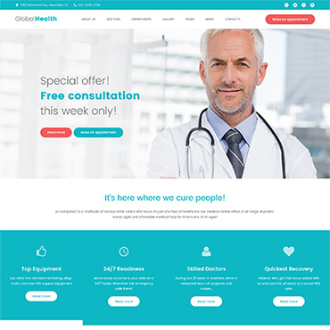 Website Template № 61240