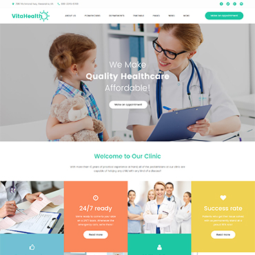 Website Template № 61242