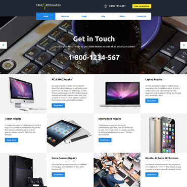 Website Template № 61255