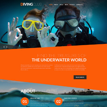 Website Template № 61260