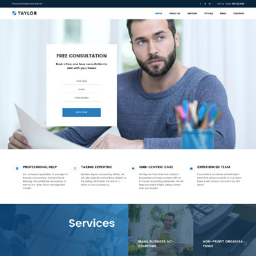 Website Template № 61268