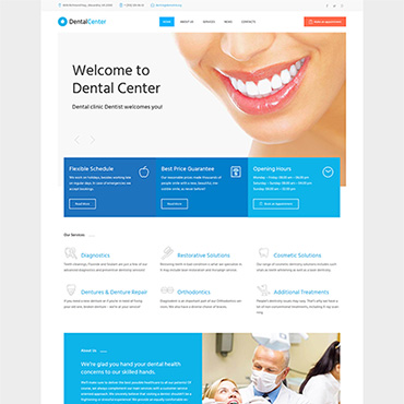 Website Template № 61273