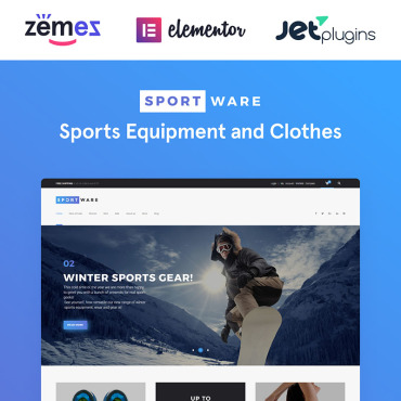 Template Sport WooCommerce #61301