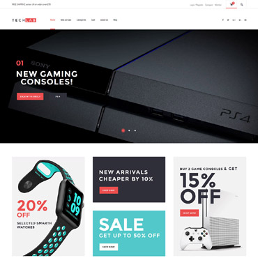 Website Template № 61303