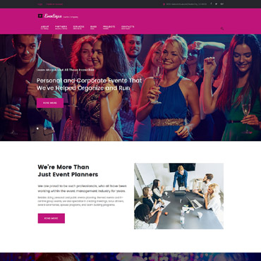 Website Template № 61322