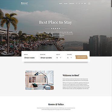 Website Template № 61342