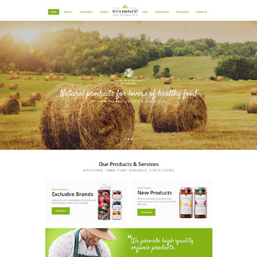 Website Template № 61347