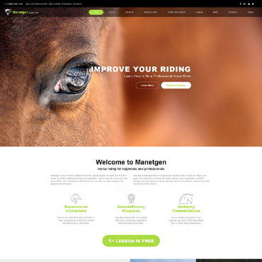 Website Template № 61392