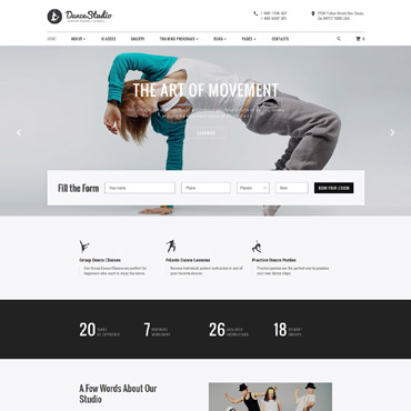 Website Template № 61394