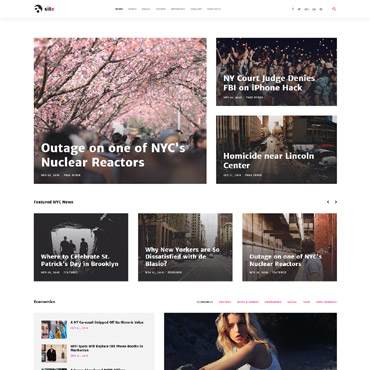Website Template № 61405