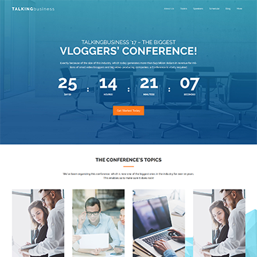 Website Template № 61417