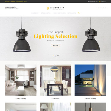 Website Template № 61420