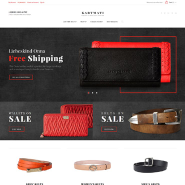 Website Template № 61421