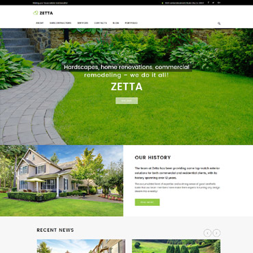 Website Template № 62031