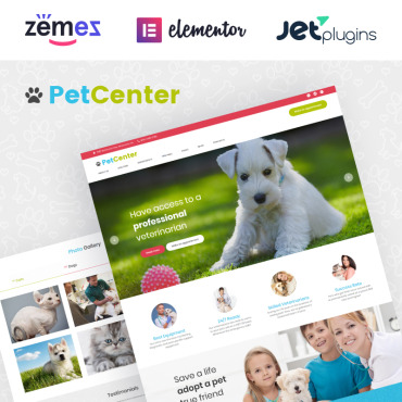 Template Animale de companie WordPress #62035