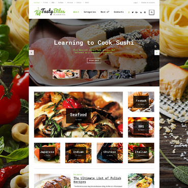 Website Template № 62036