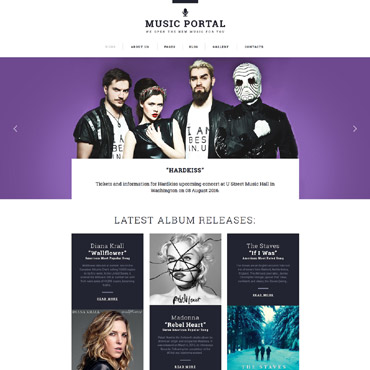 Website Template № 62064