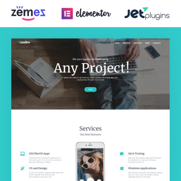 Website Template № 62120